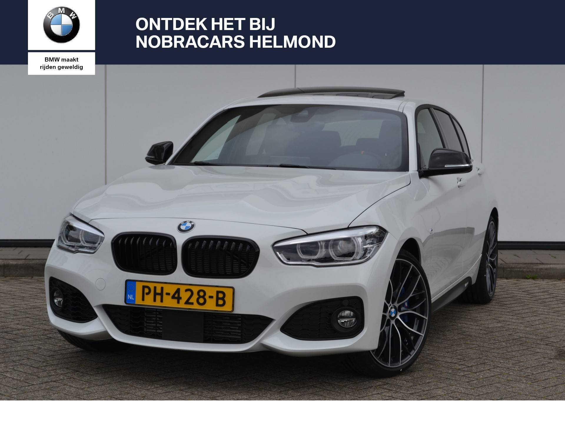 Bmw 1 serie 118i high executive m pakket m sport remmen for Serie 1 interieur